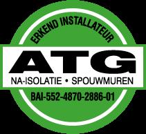 spouwmuur isolatie ATG label